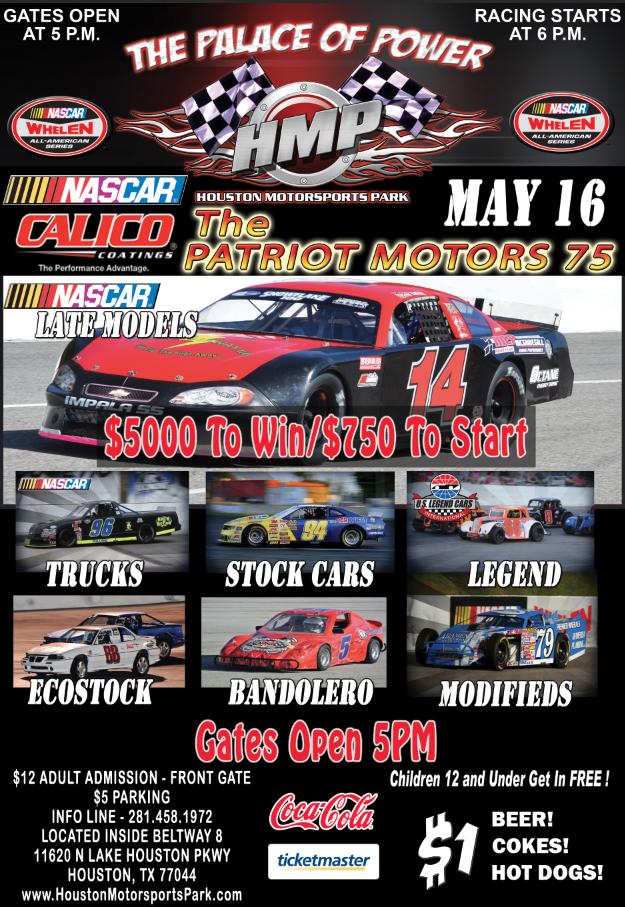 2015 Speedway Schedule Houston Motorsports Park Page 2